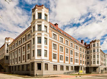 Жилой корпус высотой 3-4 этажа